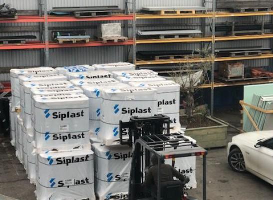 Siplast leverans